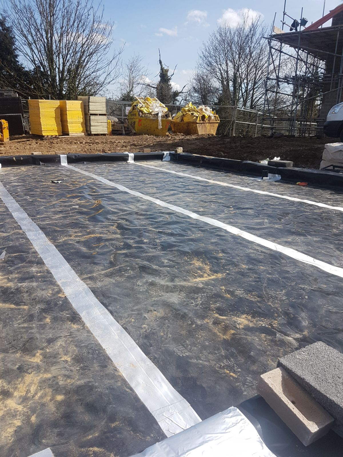 Ground Gas Protection Membranes